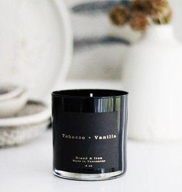 Brand & Iron Dark Spaces Tobacco and Vanilla Candle