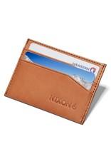 NIXON Flaco Leather Card Wallet, TAN