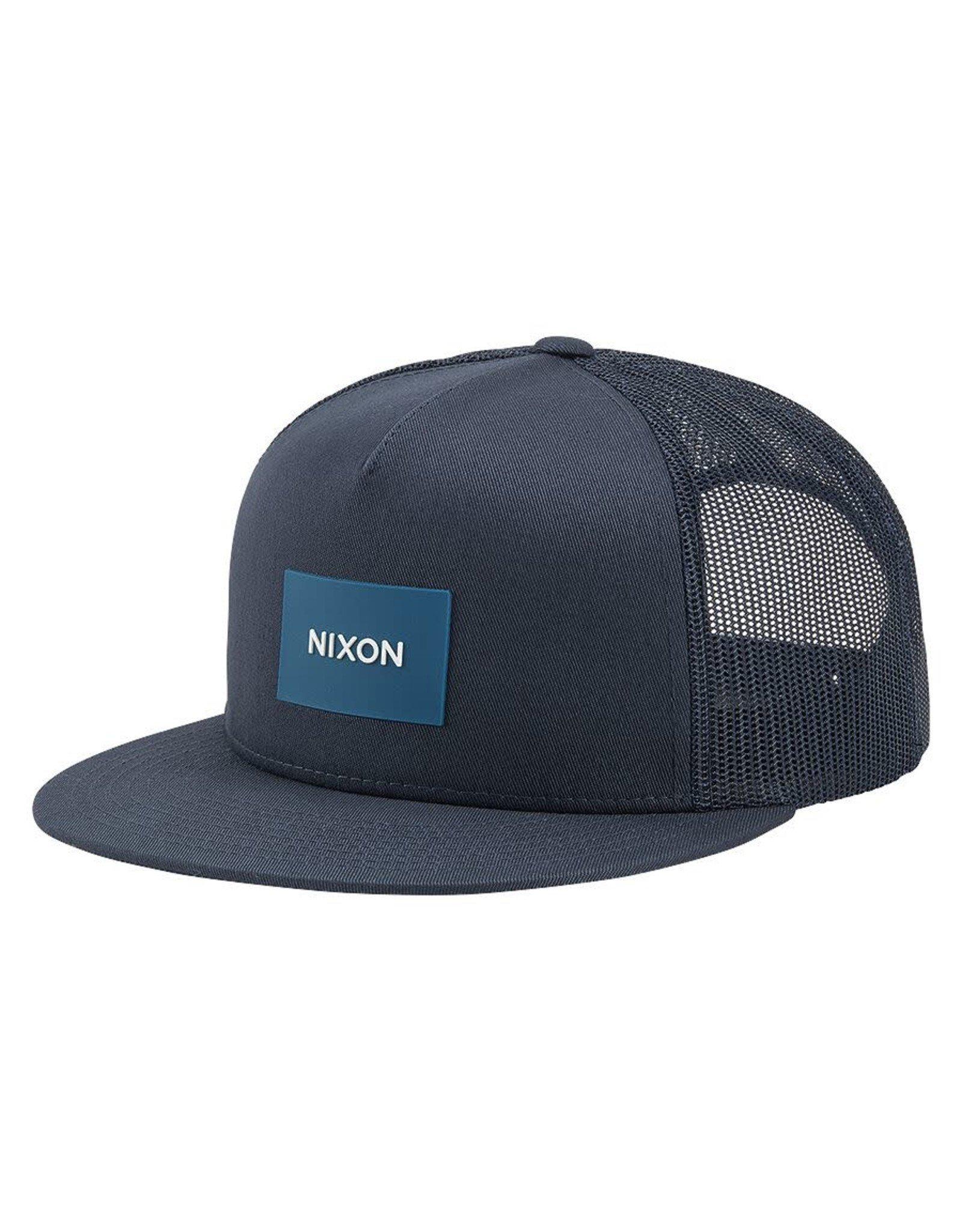 NIXON Team Trucker Hat, NAVY