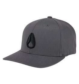 NIXON DEEP DOWN Hat, Charcoal/ Black