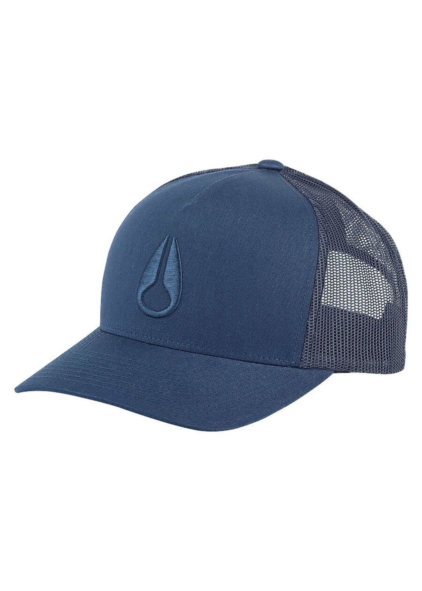 NIXON ICONED TRUCKER HAT, Navy