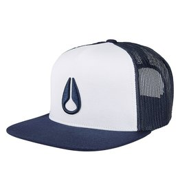 NIXON DEEP DOWN TRUCKER, Navy/ White