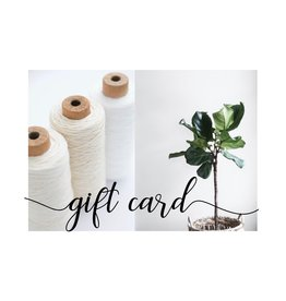 Gift Cards, more amount options