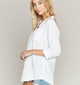 BRUNETTE  the label LOGAN DRESS SHIRT