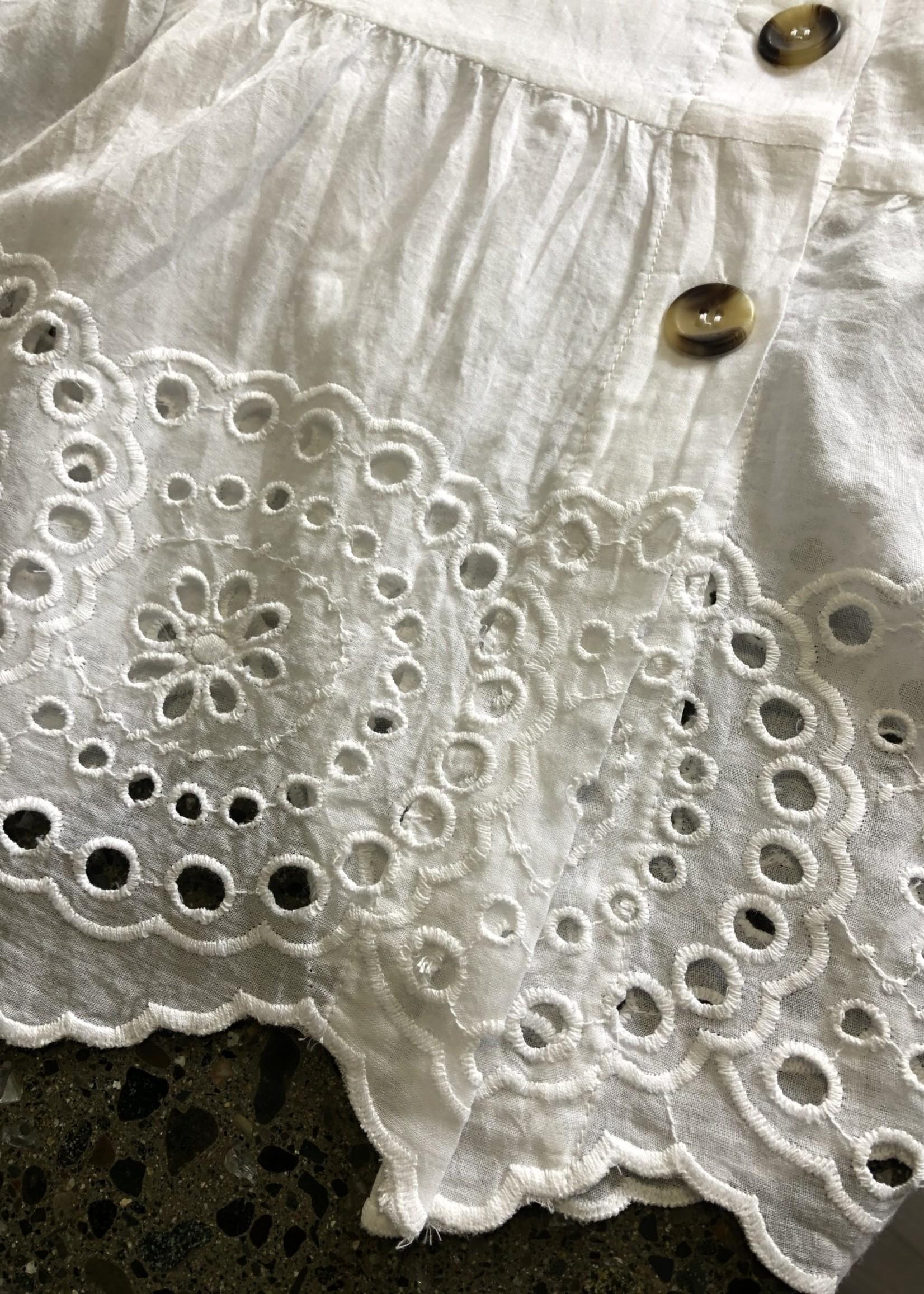 RD STYLE BOHO Eyelet  Dress