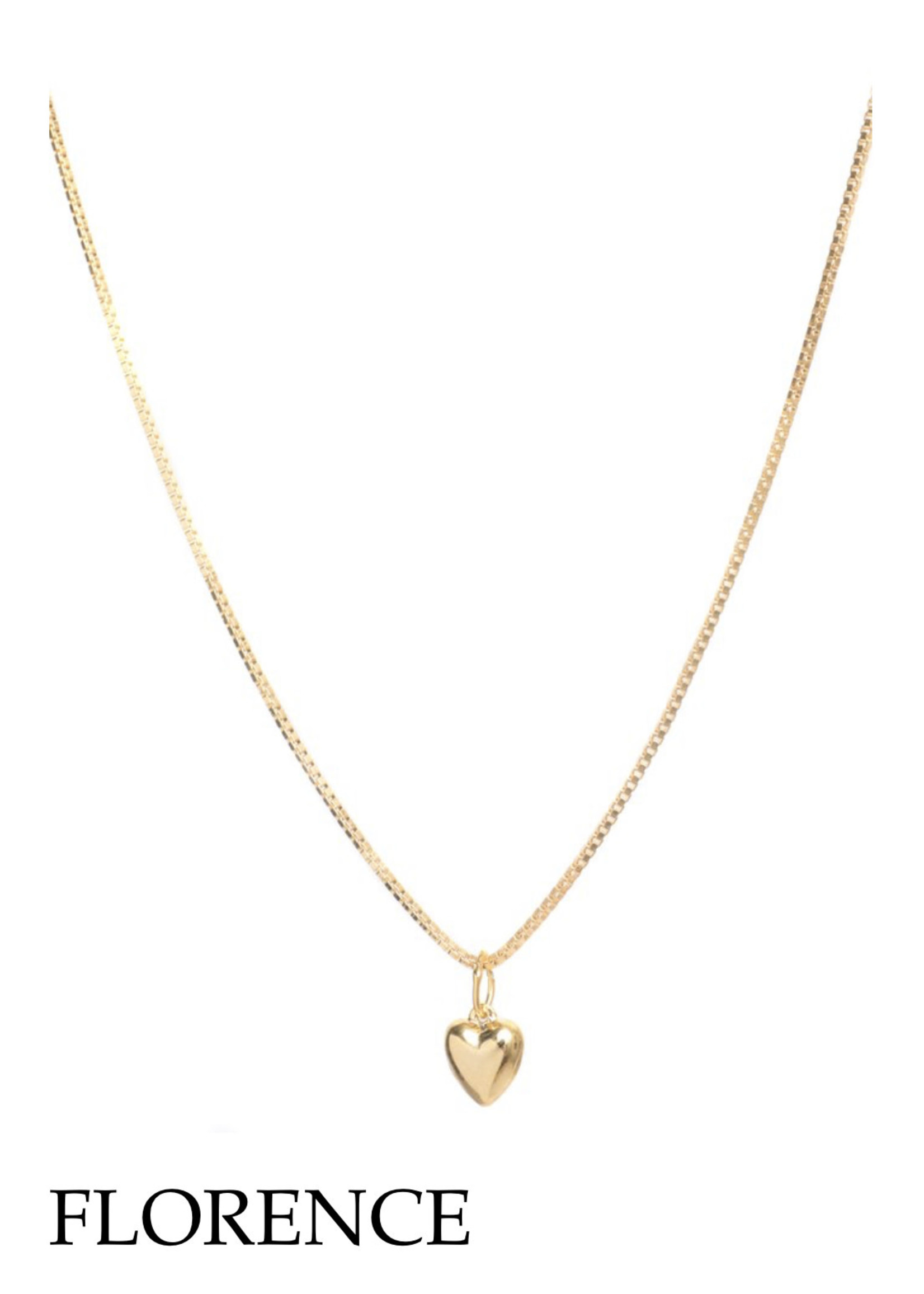 Lisbeth LISBETH Florence MINI Heart Necklace