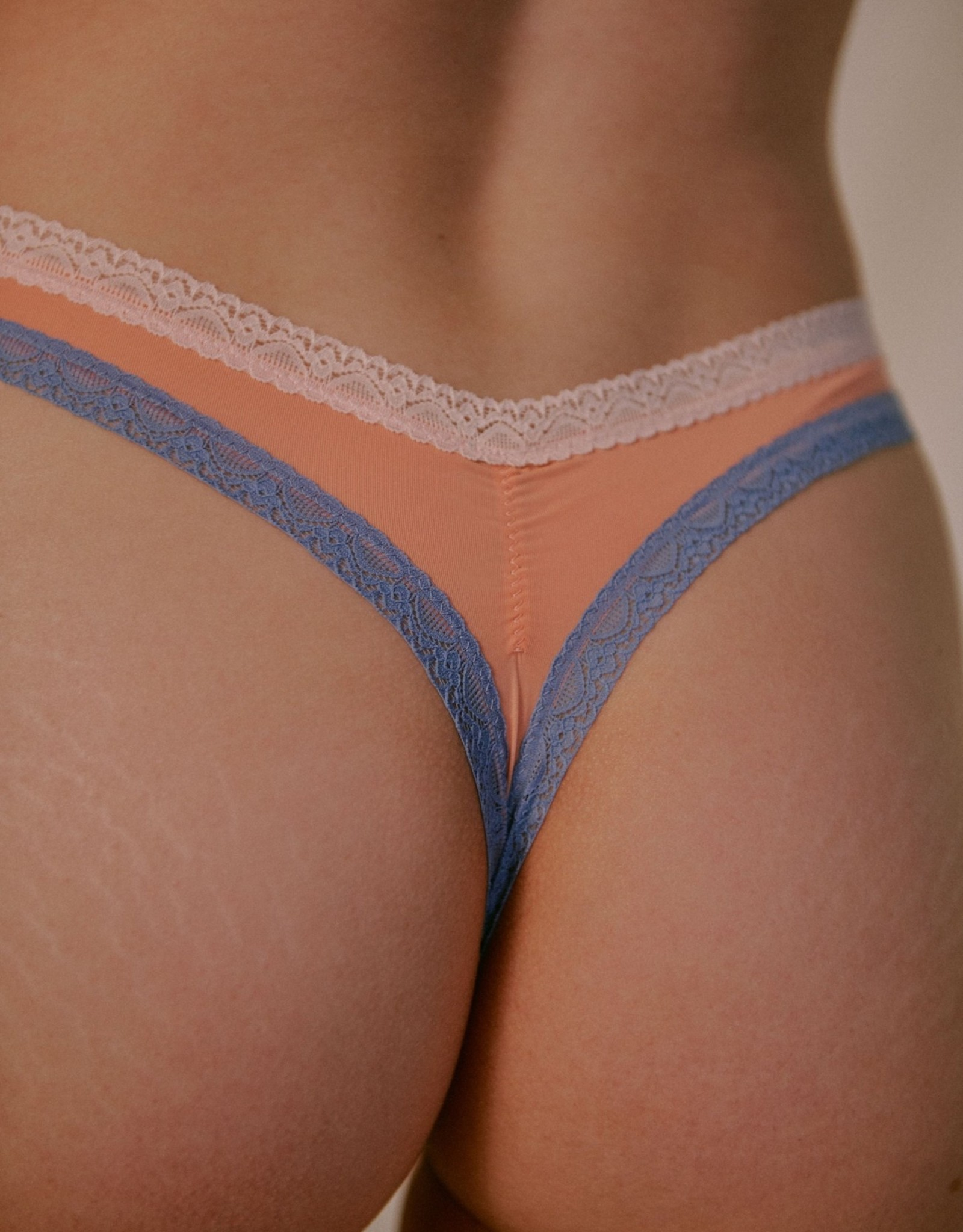 BLUSH MICRO THONG, PEACH