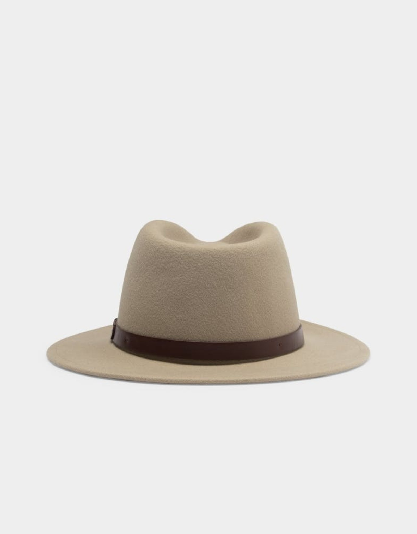 BRIXTON MESSER Fedora Hat, Unisex