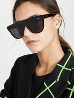 QUAY LAST NIGHT Sunglasses, BLACK TORT