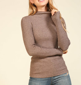 LeBLANC finds RIB KNIT MOCK NECK, more colours
