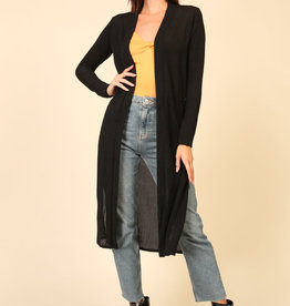 LeBLANC finds MIDI TEXTURED CARDIGAN