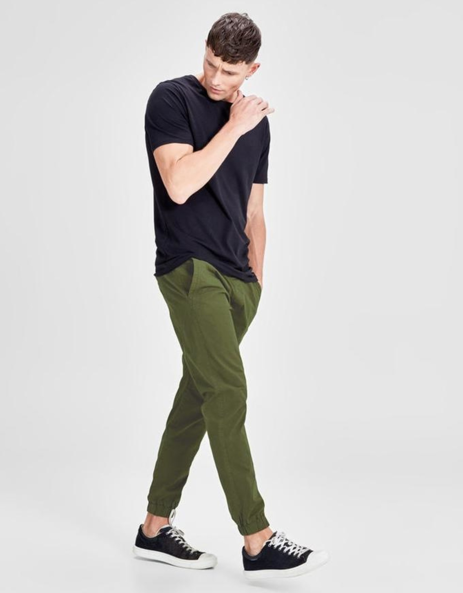 JACK & JONES OLIVE NIGHT JOGGER
