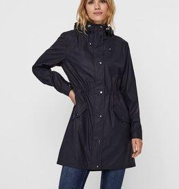 VERA MODA CHLOE Rain Jacket, BLACK