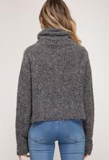 LeBLANC finds AUDREY turtle neck sweater