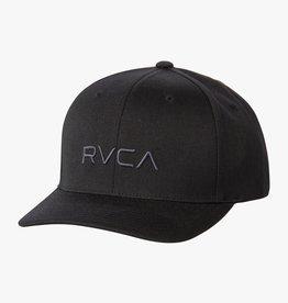 RVCA Flex Fit BLACK Hat