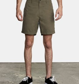 "RVCA CLIFFS HYBRID SHORTS 18"", ALSO IN BLACK"