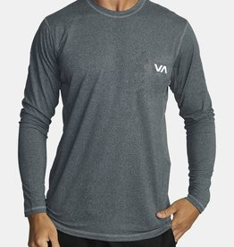 RVCA SPORT VENT LONG SLEEVE