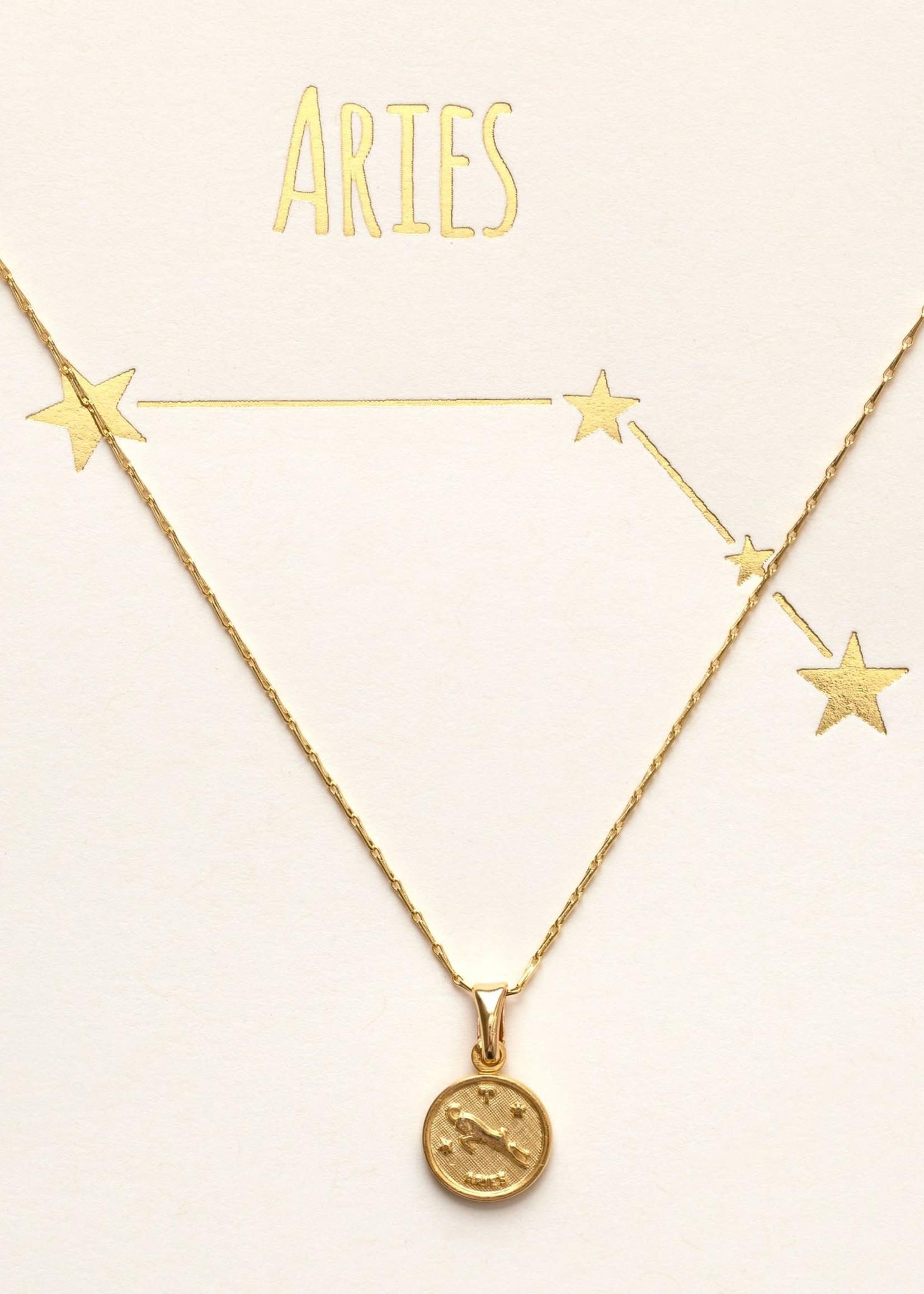 AMANO studio ZODIAC 14k gold plated necklaces