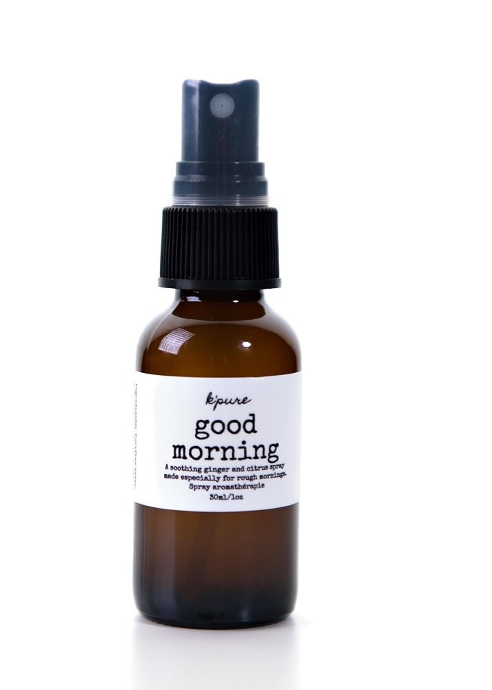 K'PURE GOOD MORNING essential oil mist