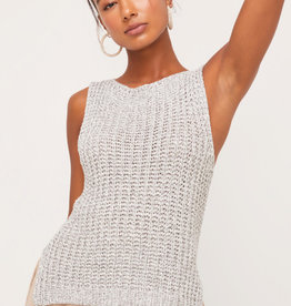 LUSH KNIT sleeveless