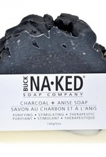 BUCK NAKED CHARCOAL & ANISE SOAP