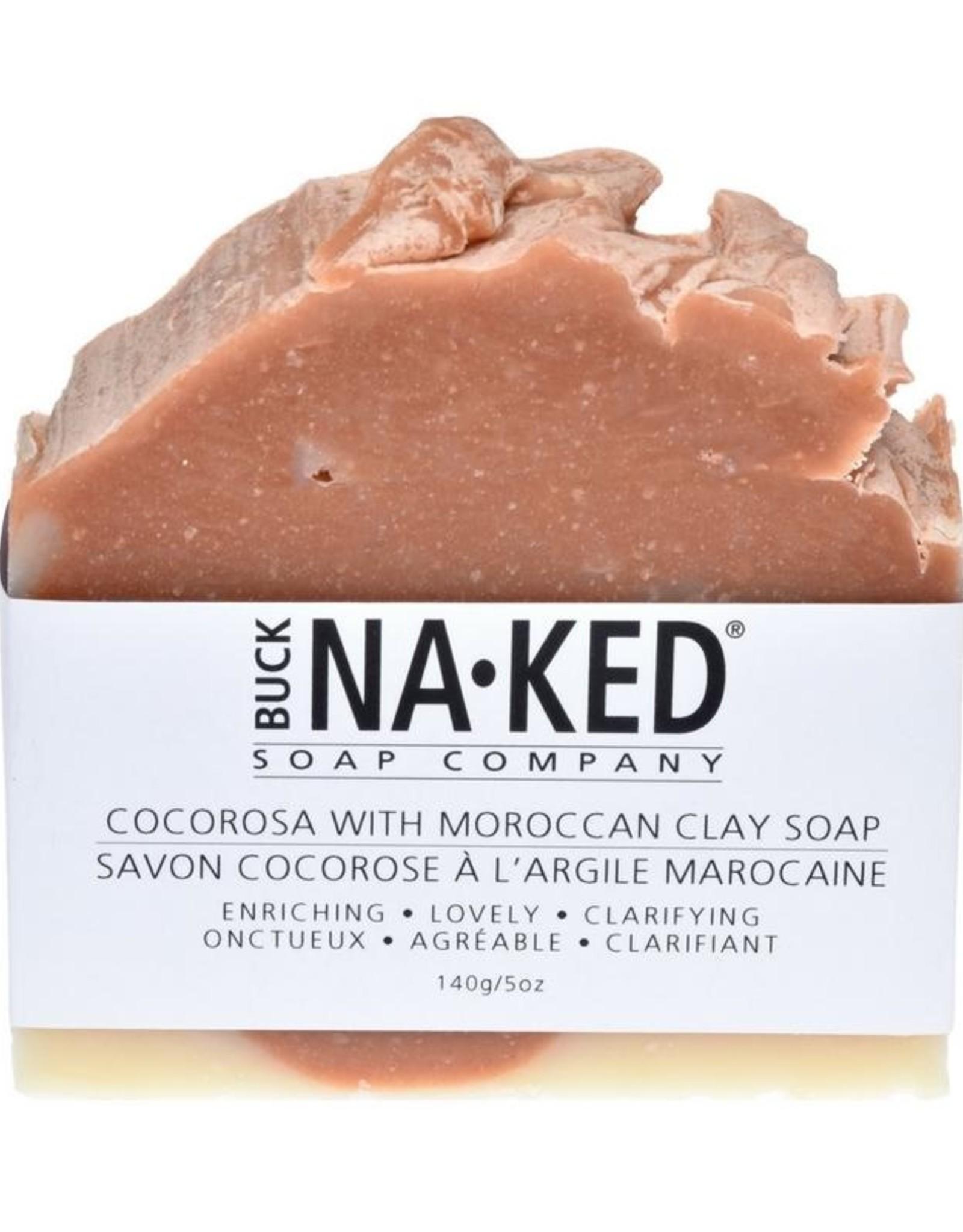 BUCK NAKED CocoRosa & Moroccan Clay SOAP
