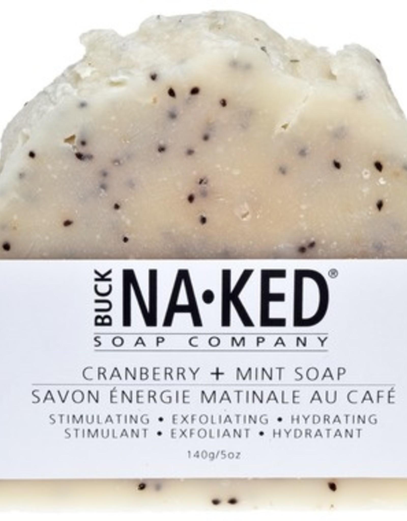 BUCK NAKED Cranberry & Mint SOAP