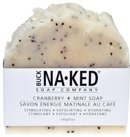 BUCK NAKED Cranberry & Mint SOAP