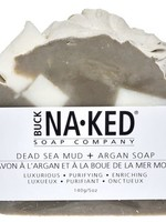 BUCK NAKED Dead Sea Mud & Argan SOAP