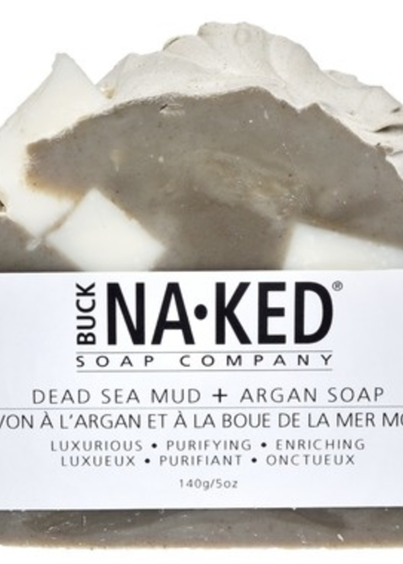 BUCK NAKED Dead Sea Mud & Argan SOAP