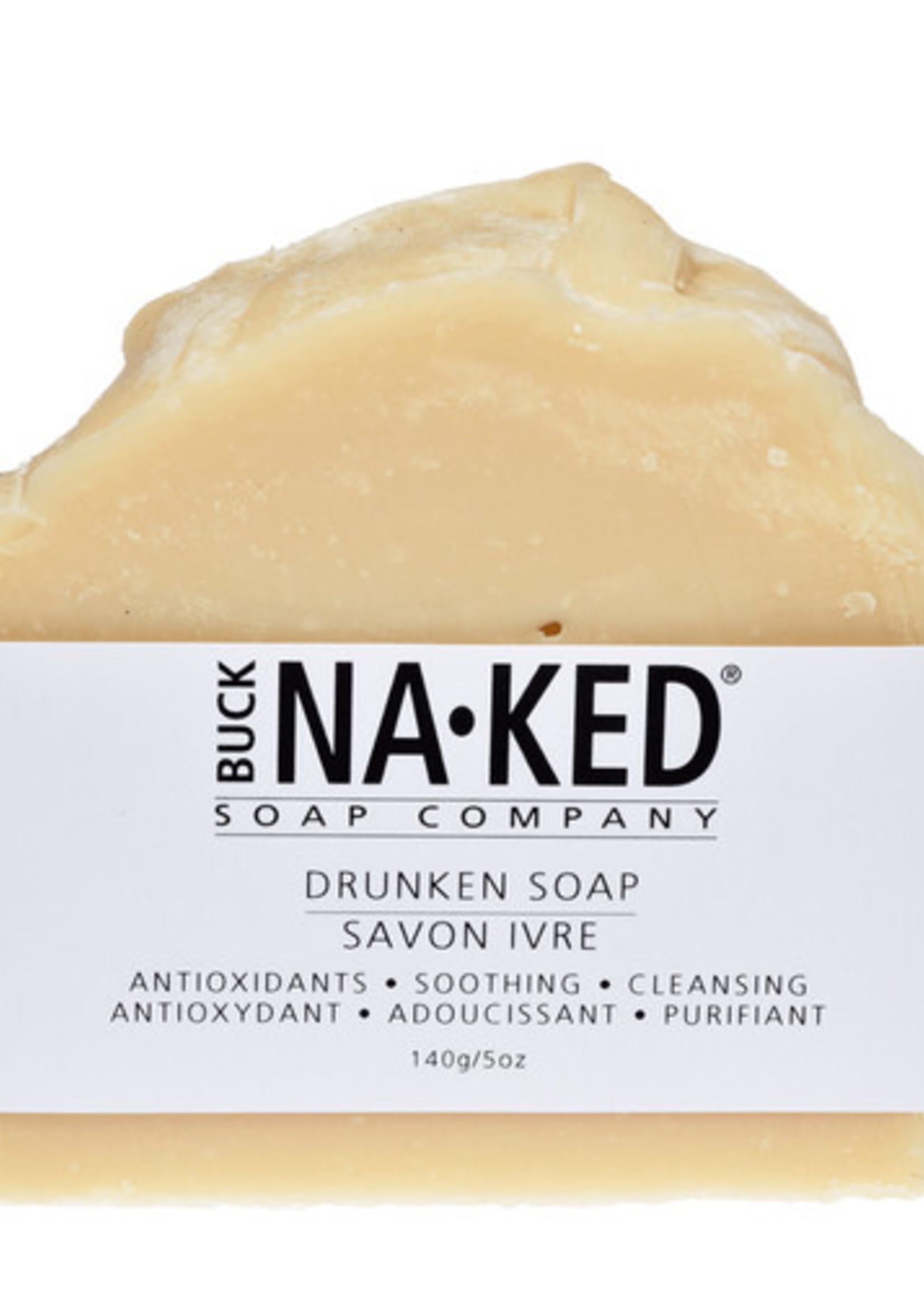 BUCK NAKED Drunken SOAP