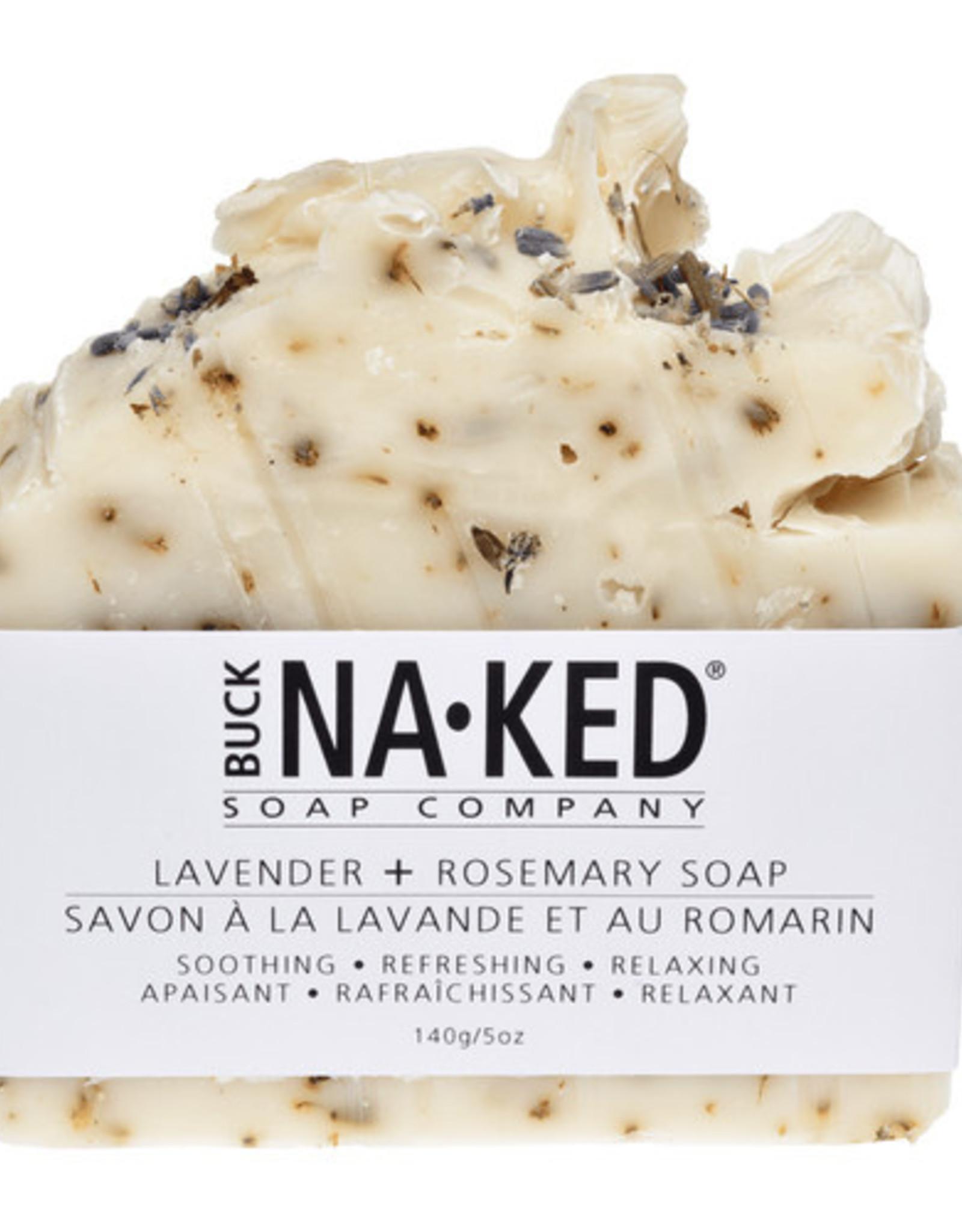 BUCK NAKED Lavender & Rosemary SOAP