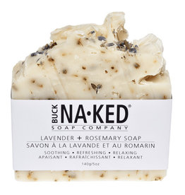 BUCK NAKED Lavender & Rosemary SOAP