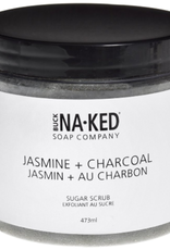BUCK NAKED Jasmine & Charcoal SUGAR SCRUB