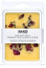 BUCK NAKED Rose BATH MELTS
