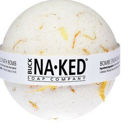 BUCK NAKED Energizing Marigold BATH BOMB