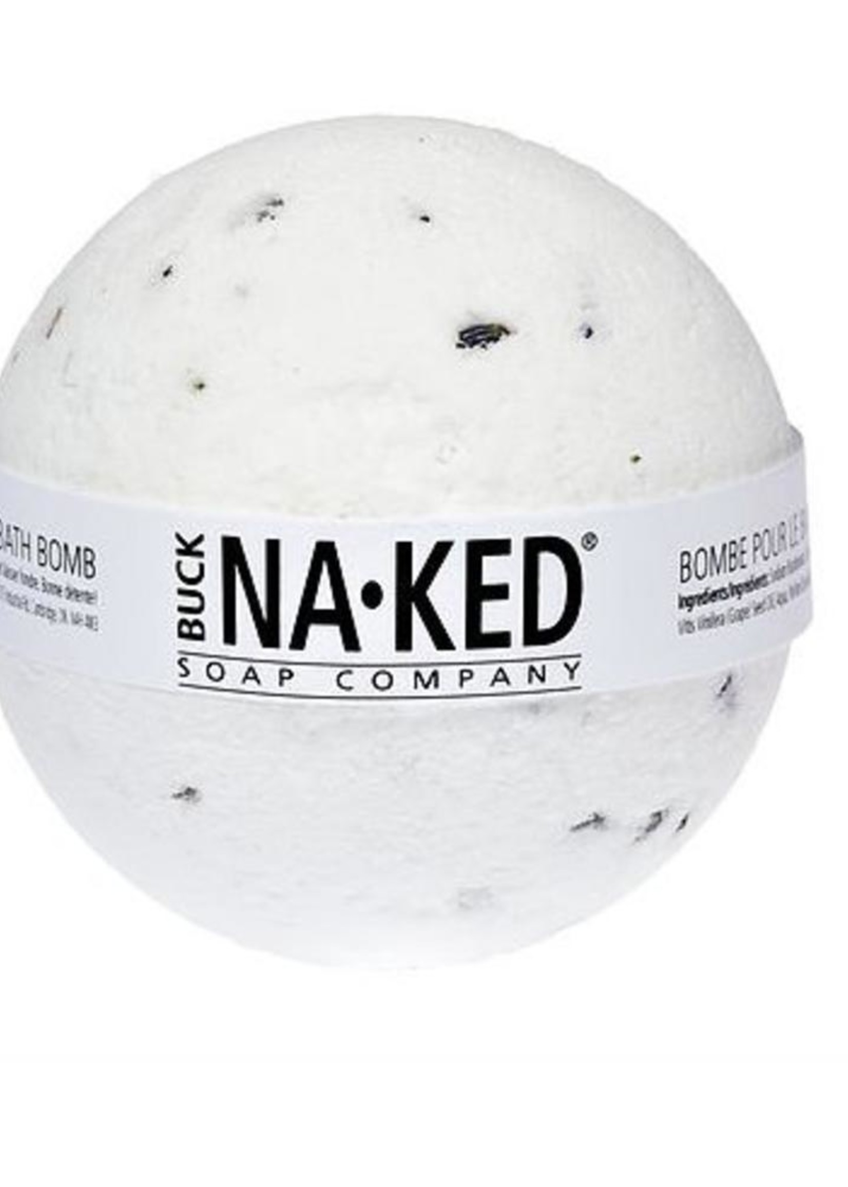 BUCK NAKED Lavender & Rosemary BATH BOMB