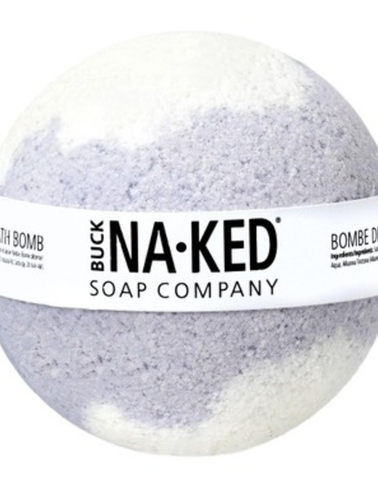 BUCK NAKED Lemon & Lavender BATH BOMB