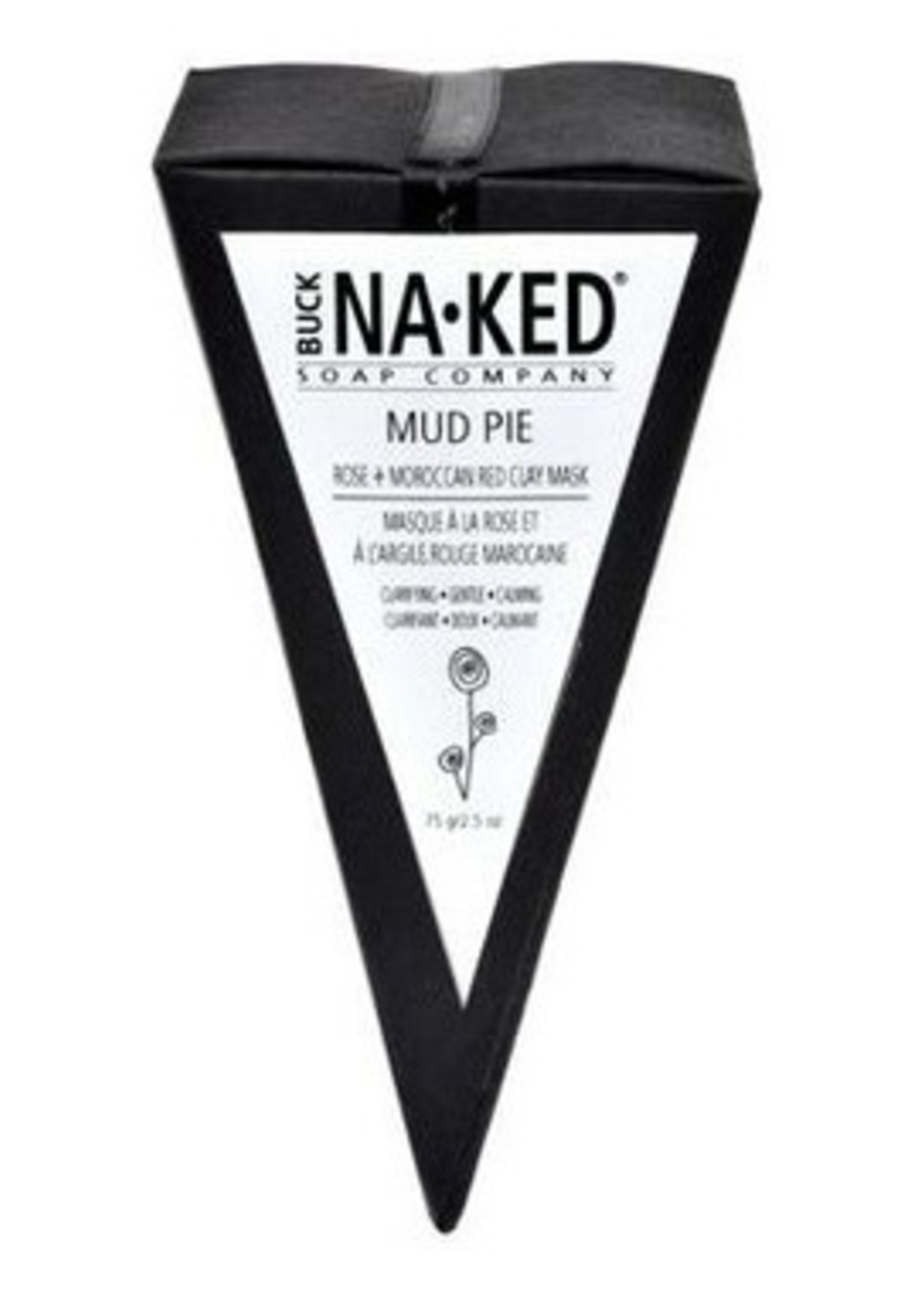 BUCK NAKED Rose & Moroccan Red CLAY MUD PIE