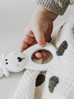 LITTLE CHEEKS Speckled Moose SILICONE TEETHER