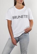 "BRUNETTE  the label The ""BRUNETTE"" Classic Crew Neck Tee"