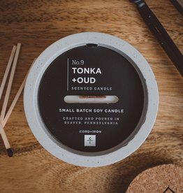 CORD +IRON TONKA+OUD Scented Candle - Natural