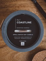 CORD +IRON COASTLINE Scented Candle - Charcoal