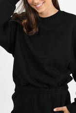 "BRUNETTE  the label The ""BEST FRIEND"" Crew Neck Sweatshirt"