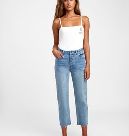 RVCA RVCA High Rise Straight Denim