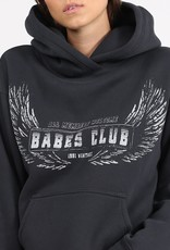 "BRUNETTE  the label The ""WELCOME TO THE BABES CLUB"" Step Sister Hoodie"