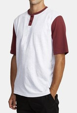 RVCA PICK UP HENLEY KNIT TOP