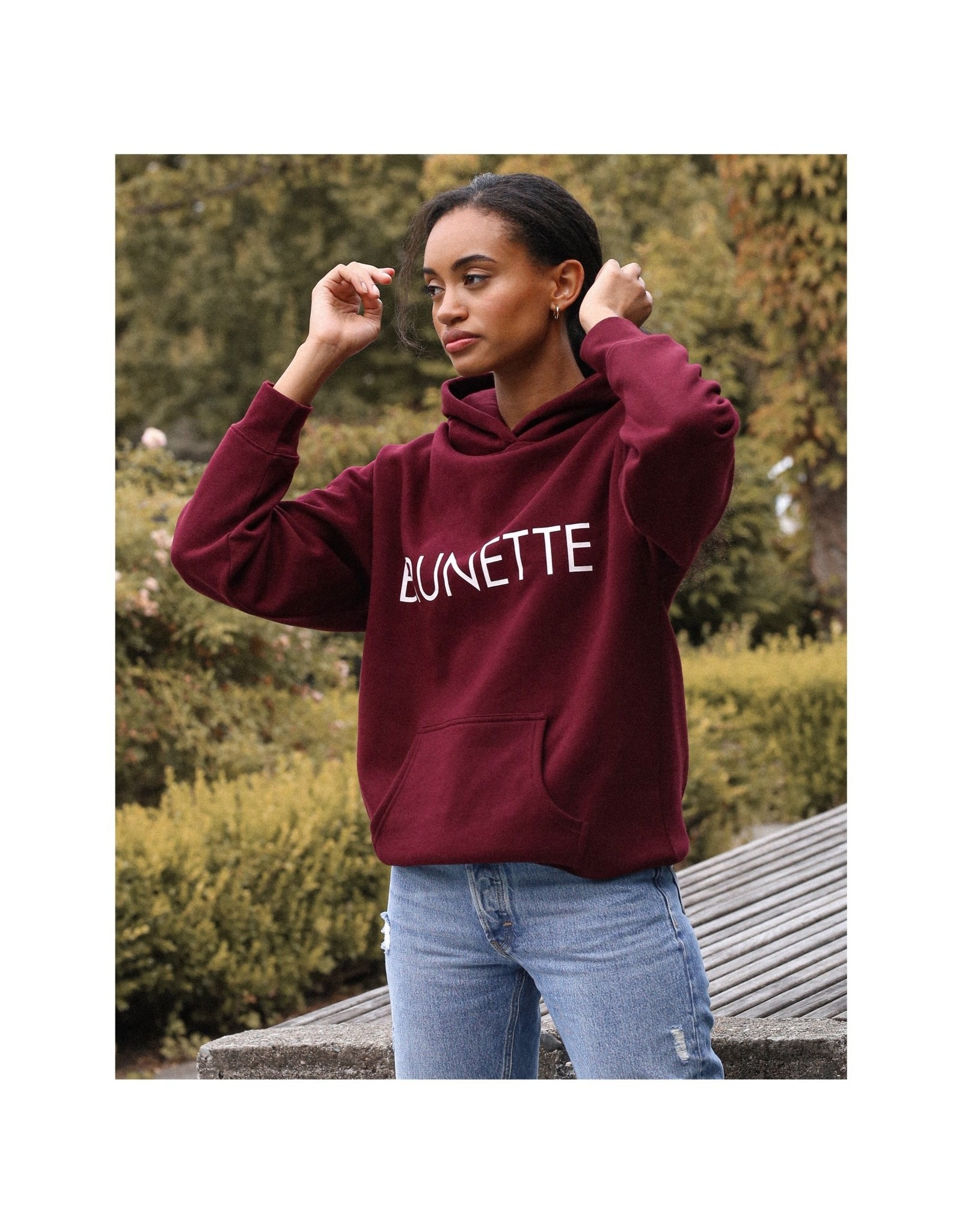 BRUNETTE  the label The 'BRUNETTE' Classic Hoodie