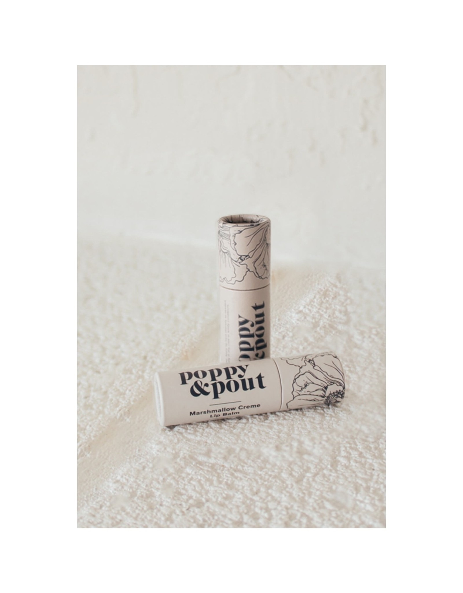 POPPY & POUT Mashmallow Creme Lip Balm