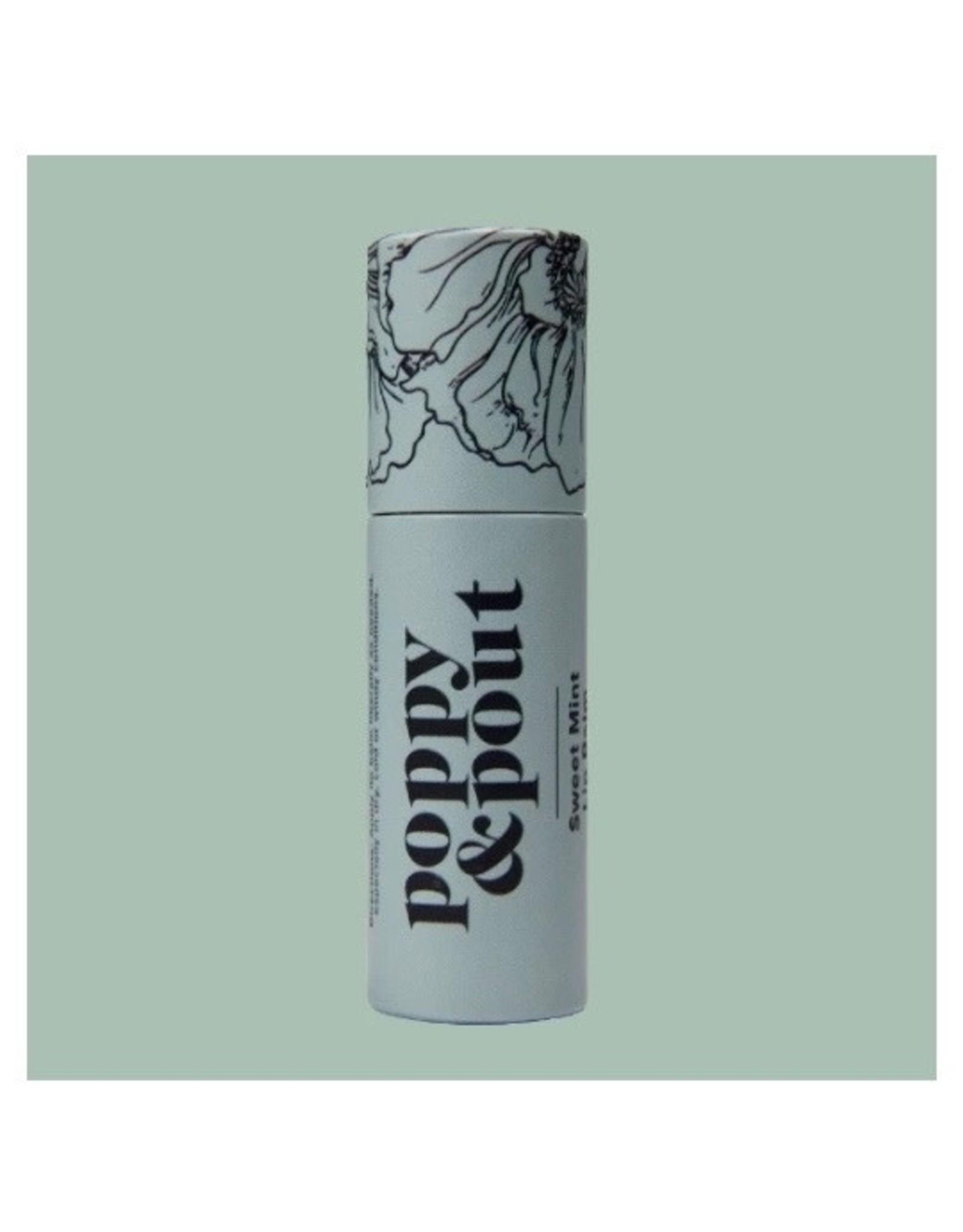 POPPY & POUT Sweet Mint Lip Balm